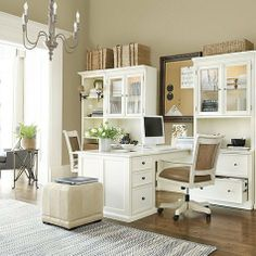 Tuscan Desk Return with Dual File Console and Hutch Tuscan Brown- Ballard Designs by Ballard Designs. $3281.00. Our Tuscan Collection offers the custom versatility and finishing of a built-in at a fraction of the cost so you can utilize every square inch of space. Crafted of wood and wood veneers. Our Desk Return includes the right leg, left cabinet and work surface. The Hutch coordinates with the Double Lateral File to create display space and file storage. Hutch doors ha...