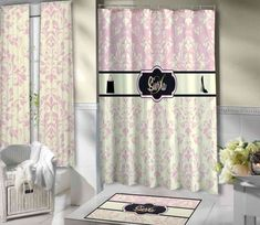 New Post victorian shower curtains bathroom