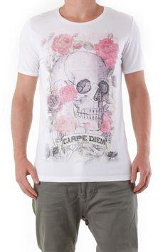 T-Shirt Uomo Absolut Joy (VI-K0457) colore Bianco