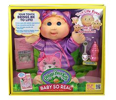 Cabbage Patch Kids Baby So Real, Blonde Girl Cabbage Patc…