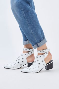 MADNESS Studded Boots - Topshop USA