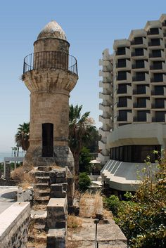 Tiberias, Israel . Old and New - It was cool to visit this city with my friend whose father had been the mayor.  He was like a celebrity in this small town!