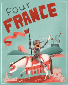 POUR FRANCE!Sketch Dailies topic 'Joan of Arc'