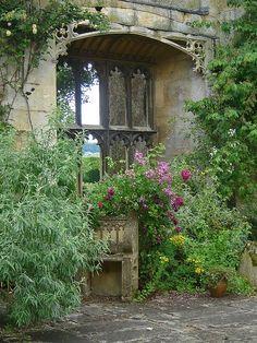 Sudeley Castle Gardens, Gloucestershire, UK