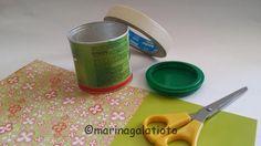 Riciclo semplicissimo con i bambini! #riciclo #riciclare #insegnareaibambini #riciclobarattolo Arte del Riciclo - Official #artedelriciclo http://www.artedelriciclo.net/riciclare-un-barattolo-di-cartoncino-e-plastica/