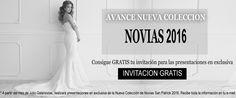 Vestidos de Novia 2016. Presentación en exclusiva no te quedes sin tu invitación
