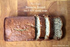No-Fail Banana Bread Recipe – Our EASY Family Recipe