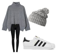 """""""Untitled #469"""" by heden-fun ❤ liked on Polyvore featuring Helly Hansen, J Brand, adidas, women's clothing, women's fashion, women, female, woman, misses and juniors"""