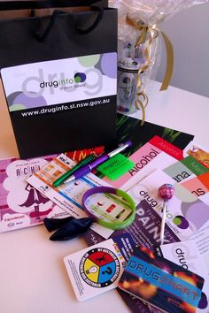 Check out our Drug Action Week Show bags - to mark Drug Action Week 2013 @ Canada Bay Libraries