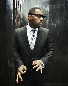 """Idris Elba:  """"I've challenged my audience. I've taken them from being a drug lord to a preacher to married to Beyonce to American Gangster…versatility is the key to success."""""""