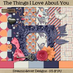 FREE Things I Love by Dreamn4ever Designs: Blog Trains