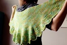 Designed with the tales of author Laura Ingalls Wilder in mind, this Little House Shawl is surprisingly simple. Made from the hem up, this is one of those knit shawl patterns that's great for those ready to give lace knitting a try. If you can knit, purl, knit two together and yarn over, then you'll be able to make your own shawl in no time. The best part? It comes in both children and adult sizes. Via Ravelry