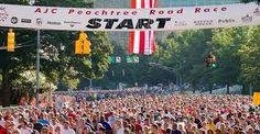 Run the Peachtree road race.