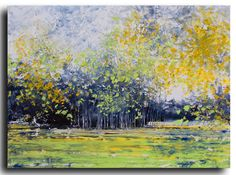 Extra large 30x40 ORIGINAL Landscape painting on by studiomosaic, $350.00