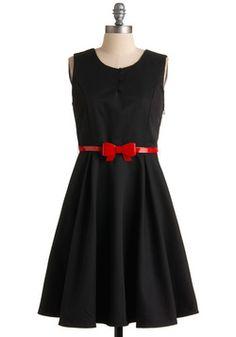 Vertical Wave Dress   Mod Retro Vintage Printed Dresses   ModCloth.com