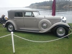 1932 Lincoln Model KB Convertible Sedan by Dietrich #PreOwnedLuxuryCars