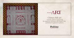 #Bangalore #folkart #Cultural #marvel #chittara #rituals of #life