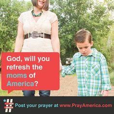 Prayer for MOMS!  #mom #pray #bible #prayer #inspiration #quote #jesus #typography #design   www.facebook.com/weprayamerica  www.youtube.com/newlifeamerica  www.instagram.com/prayamerica