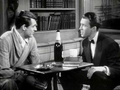 """Cary Grant and Jimmy in """"The Philadelphia Story"""", 1940"""