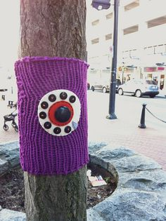 International Yarn Bombing Day 2012 -Vancouver by hine, via Flickr