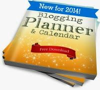 Bloggers, Pick up a FREE Blogging Planner & Calendar for 2014