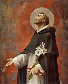 Catholic Online, Catholic Art, Catholic Saints, Roman Catholic, Religious Images, Religious Art, Catholic Catechism, Saint Dominic, Saint Anthony Of Padua