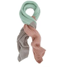 Tak Ori Women's Ombre Pastel Scarf ($298) ❤ liked on Polyvore featuring accessories, scarves, pastel, ombre scarves and pastel scarves