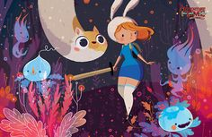 Adventure Time Annual 2014 #1 Man, Becky and Frank's...