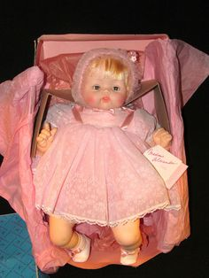 "Madam Alexander ""Kitten"" 5310 Baby Doll, Made in 1962"