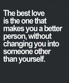 Best love is when