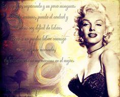 Frases de Marilyn   Fondo vintage