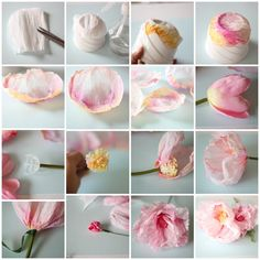 Isn't this the prettiest little flower tutorial you have ever seen? Here is The Tutorial:.....
