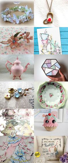 Wonderland by FrenchPaperMoon on Etsy--Pinned+with+TreasuryPin.com
