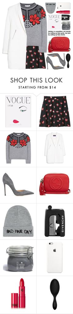 """""""color scheme contest (view description) 🏆"""" by jesuisunlapin ❤ liked on Polyvore featuring WALL, Monki, STELLA McCARTNEY, MANGO, Gianvito Rossi, Gucci, Local Heroes, Givenchy, Borghese and Lipstick Queen"""