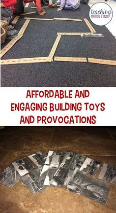 I love this idea as a building toy for boys and girls in kindergarten or preschool. Activities that are free or cheap are right up my alley, especially if they can entertain kids who love to play with cars for hours! This list is handy for making a local