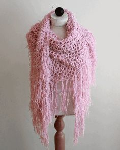 Super Easy Tutu Shawl Crochet Pattern