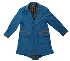 The Fantastic Beasts and Where to Find Them offically licensed Newt Scamander Jacket is a fantastic way to cosplay your new favourite character! The soft fabric jacket is line inside with pockets and faux leather details. Perfect for Expo, Cons, Halloween or a themed party! #YYC #Calgary #Costume #NewtScamander #FantasticBeasts