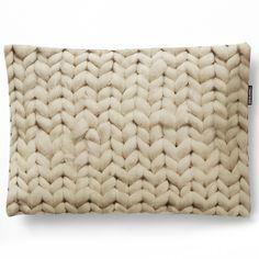 Snurk beddengoed - twirre cushion natural