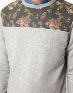 asos sweatshirt floral