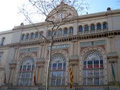 Gran Teatre del Liceu and Círculo del Liceo by Miquel Garriga i Roca and Josep Oriol Mestres in 1847. Refurbished between 1900 and 1903. Paintings by Ramón Casas. Address: La Rambla, 63.