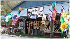"""Howdy, folks. Y'all can touch anything you want, 'cause the BIG kids get to play in here, too!"" Smiles and laughter typically ensue. This kind of warm and hearty greeting is your welcome to Byrnes Woodcrafters in #Gatlinburg, TN."