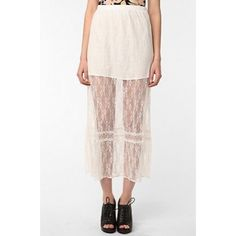 ✨Urban Outfitters lace creme skirt This lace creme color skirt is what you need for that spring/summer outfit! It's light and fun! You can dress it so many ways! Pair it with a chambray top or crop top! Throw on some sandals or booties with a denim/leather jacket and you're ready to go! Although there is a mini skirt attached underneath, I would recommend wearing nude panties or another layer as it can be sheer. It is in excellent condition, no snags or tears! Please let me know if you have…