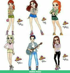 Personajes Soy Luna