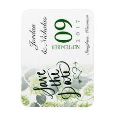 #Hops Beer Save the Date Magnet - #WeddingMagnets #Wedding #Magnets Wedding Magnets