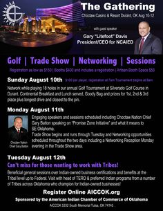 Choctaw Casino, Guest Speakers, The Gathering, Software