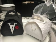 Set of 50 Wedding favor box wedding favor Bride by StudioJackson