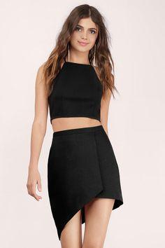 Caught Up Wrap Mini Skirt at Tobi.com | New Arrivals | June 16'