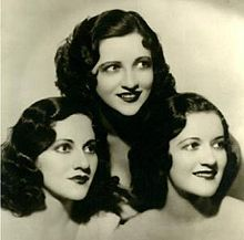 These women are incredible- I want to listen only to music from the 20s and 30s for an entire month.  Please share recommendations!  So far, the Boswell's are the best of the bunch.