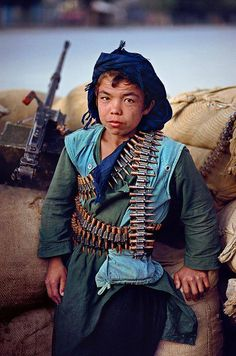 War child, Afghanistan | Steve McCurry