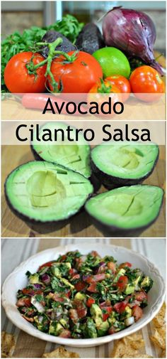 What is the perfect addition to your #CincoDeMayo plans? My Avocado Cilantro Salsa!! It is a family fav!!